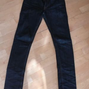 Denham Raw Denim Selvedge Jeans - 30x34